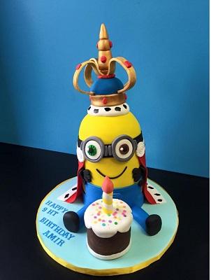 His Highness King Bob Charming Cake